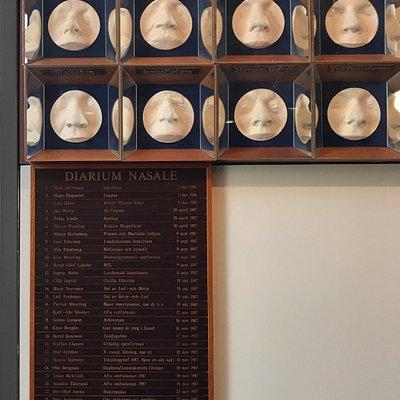 Nasoteket föddes som idé den 29 november 1986 då Hans Alfredson, i samband med AF:s Siste November-festligheter, installerades som en av Föreningens hedersledamöter.