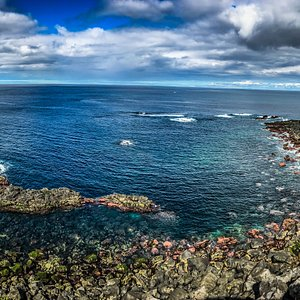 Piscinas Naturais do Frade | Frade Natural Swimming Pools Maia, São Miguel, The Azores  www.facebook.com/VisitMaia www.instagram.com/VisitMaia