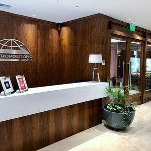 Lobby // Front Desk
