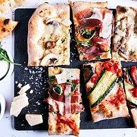 Porcini, Parma & Pancetta e zucchine