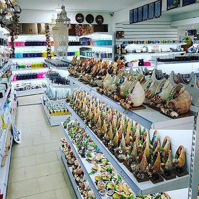artesanatos locais e importados