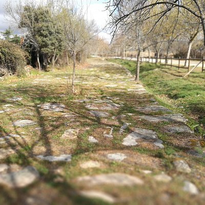 Calzada romana.