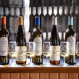 Award winning lineup of Traditional Mead at Martin Brothers Winery
