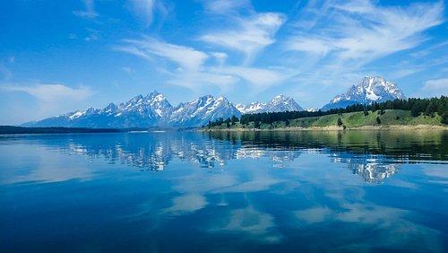 A pristine lake. Just a Beautiful area.