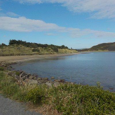 Sea shore near Mana
