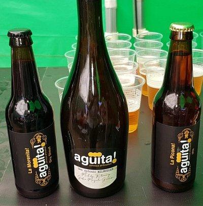 Cata de Agüita! Cerveza Artesanal. Reserva tú visita en la fábrica.