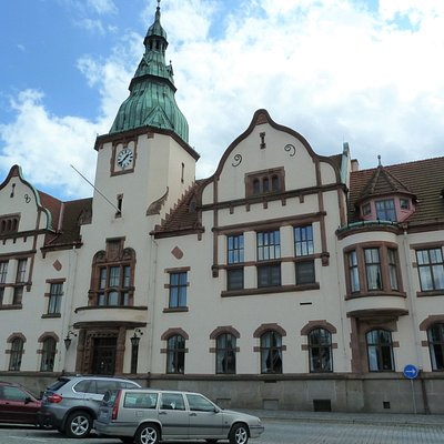 Karlshamns Rådhus i Karlshamn