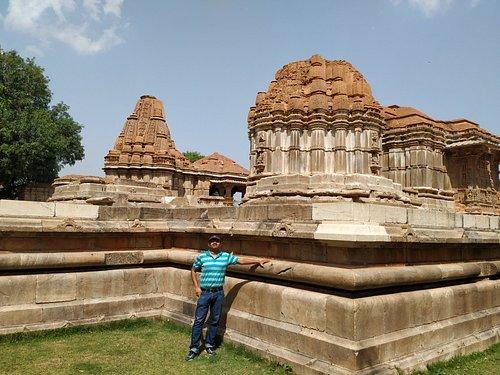 In premises of Sahastra Bahu Temple