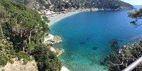 Spiaggia a Bonassola LiguriaSpiaggia a Bonassola Liguria