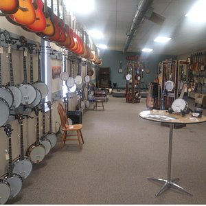 Our upstairs showroom is ready for you to come play!