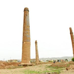 Minarets of Herat, March 28, 2019 Photo by: Safa Daneshvar Thanks to Mr. Sibghatullah Rahmani