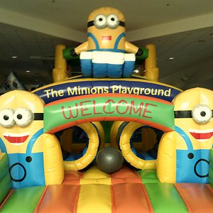 Brand new Minions inflatables!