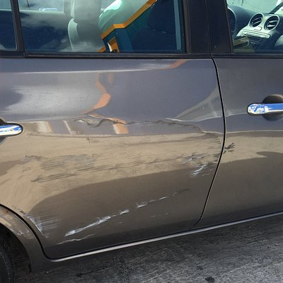 Right back dent and scratches