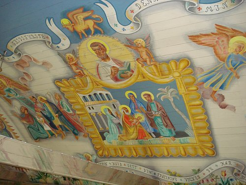 Målningar i Träslövsläge Kyrka i Träslövsläge