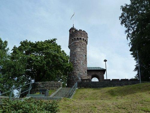 Vattentornet i Kvarnbergsparken i Borås