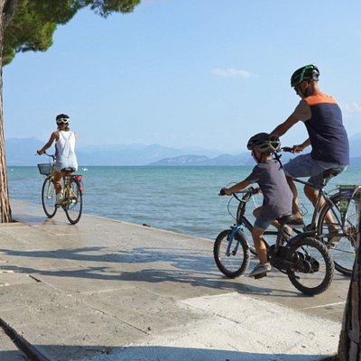 Noleggio bici Peschiera del Garda