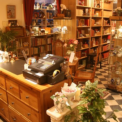 Inside our shop it's nice and cosy. Come inside and have a nosey! Gifts to please and books galore, souvenirs and much, much more!