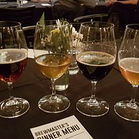 The Brewmasters Dinner beers