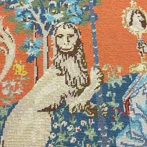 Carmines Antiques and Accommodation tapestry room close up