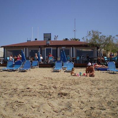 la cafetería de la playa