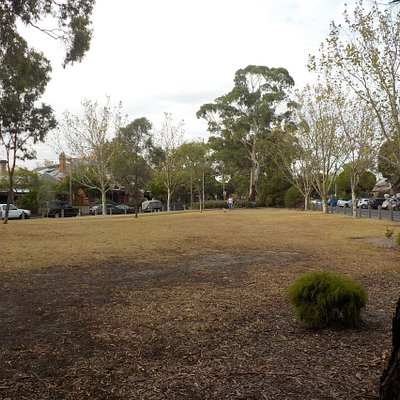 Open spaces, dry from Summer