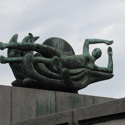 Détail des sculptures de George Grard