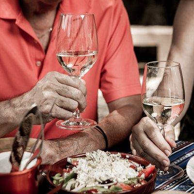 Our restaurant focuses on authentic wine-friendly Cretan cuisine.