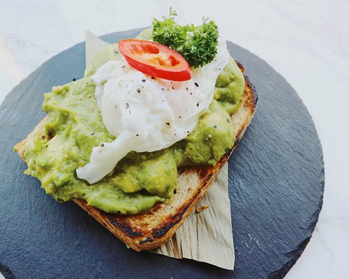 Poached Egg & Avo Mesh Toast - Lunchbox by Mingzi Breakfast