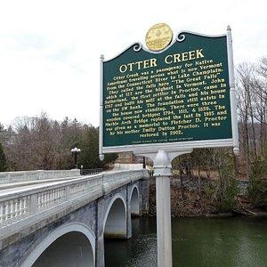 Marble Bridge over Otter Creek
