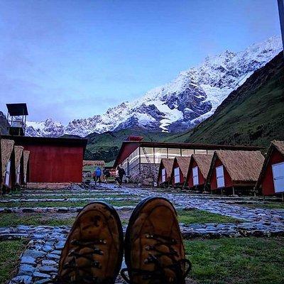 Campsites in Soraypampa, Salkantay Trek