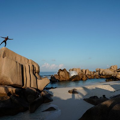 Seychelles Hiking Tours with Sunny Trail Guide.