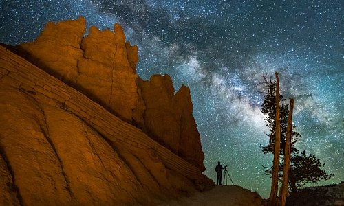 The unbeatable night skies of Bryce National Park!