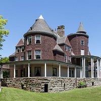 Home of Stephen B. Elkins, founder of Elkins, West Virginia, Halliehurst is used as the admissions office of Davis & Elkins College.
