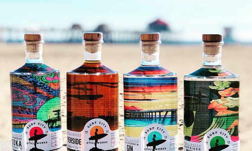 Our full lineup of craft spirits