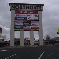 MA - REVERE - NORTHGATE SHOPPING CENTER - SIGN