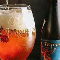 variety of high quality Belgian beers(draft beer and bottle beer).