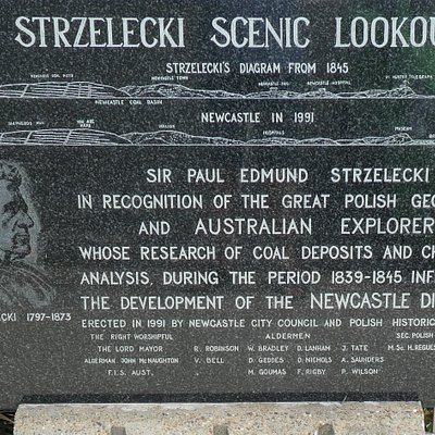 Plaque at lookout