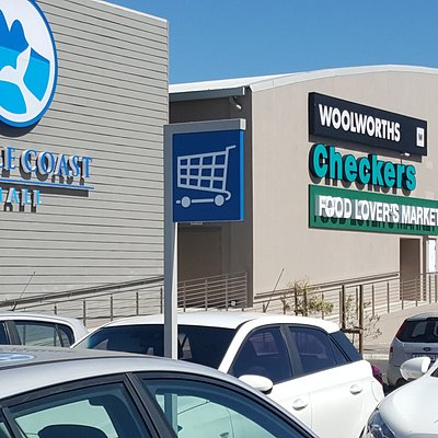 West Coast Mall with many entrances