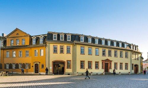 Außenansicht Goethe-Nationalmuseum