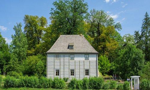 Außenansicht Goethes Gartenhaus