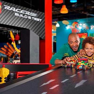 Build a LEGO car to race down our ramps in our Build & Test area! Who will win?