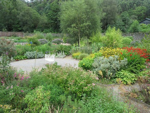 This is the center of the Sensory garden