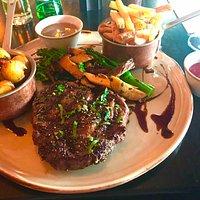 Really nice 10oz Ribeye steak
