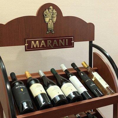 Ассортимент вина Marani (3 полки)