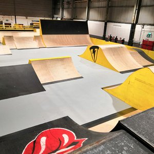 The main arena. Ramps here are ideal for Scooter / BMX / Inline and MTB