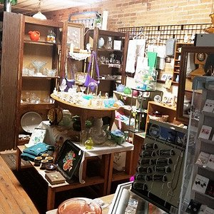 Another booth with eclectic items