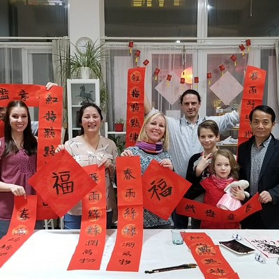 Spring Festival Calligraphy class in Beijing with Cultural Keys