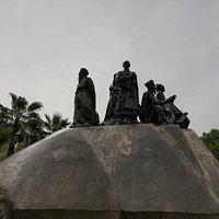 скульптуры парка