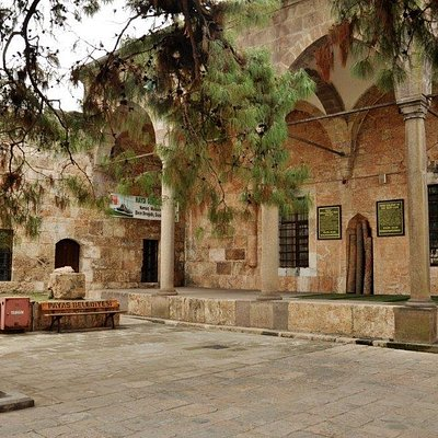courtyard of the mosque