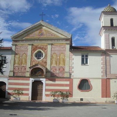 """Convento di Santa Reparata, nella chiesa sono custodite le """"Spoglie della Santa"""""""